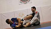 submission grappling thumb